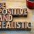 ficar · positivo · motivacional · palavra · abstrato · vintage - foto stock © pixelsaway