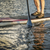 stand up paddling abstract stock photo © pixelsaway