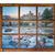 vecchio · finestra · inverno · completo · neve · vetro - foto d'archivio © pixelsaway