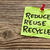 reduce reuse and recycle note stock photo © pixelsaway