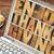 palavra · laptop · tela · vintage · madeira - foto stock © pixelsaway