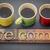 welcome sign in vintage wood type stock photo © pixelsaway