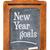 new year goals on blackboard stock photo © pixelsaway