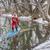 winter stand up paddling stock photo © pixelsaway