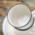 xícaras · de · café · abstrato · dois · vazio · grunge - foto stock © pixelsaway