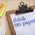think on paper advice stock photo © pixelsaway