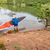 senior paddler launching sup paddleboard stock photo © pixelsaway