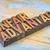 vantagem · palavra · madeira · tipo · texto · vintage - foto stock © pixelsaway