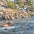 paddling whitewater kayak stock photo © pixelsaway