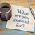 gratidão · letra · guardanapo · copo · café · expresso · café - foto stock © pixelsaway