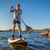 stand up paddling sup in colorado stock photo © pixelsaway