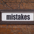 mistakes   file cabinet label stock photo © pixelsaway