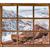 ウィンドウ · 表示 · 山 · 川 · 旅行 · グリーティングカード - ストックフォト © pixelsaway