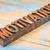 konsystencja · słowo · drewna · typu · streszczenie · vintage - zdjęcia stock © pixelsaway