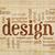 dizayn · elemanları · kurallar · kelime · bulutu · el · yazısı · peçete - stok fotoğraf © pixelsaway