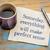 beter · morgen · handschrift · servet · beker - stockfoto © pixelsaway