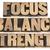 evenwicht · woord · type · geïsoleerd · vintage - stockfoto © pixelsaway