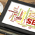 analytics · woordwolk · digitale · tablet · wolk · woorden - stockfoto © pixelsaway