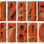 wood type numbers isolated set stock photo © pixelsaway