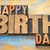 happy birthday word abstract in wood type stock photo © pixelsaway