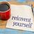 reinvent yourself   napkin handwriting stock photo © pixelsaway