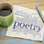poetry word cloud on napkin with coffee stock photo © pixelsaway