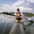 caiaque · lago · norte · reflexão - foto stock © pixelsaway