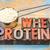 scoop of whey protein powder stock photo © pixelsaway