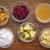 yoghurt · klein · glas · kom · grunge - stockfoto © pixelsaway