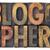 blog · kelime · soyut · ahşap · tip · bağbozumu - stok fotoğraf © pixelsaway