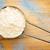 meel · metaal · schep · keukentafel · tarwe · witte - stockfoto © pixelsaway