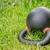 鉄 · ケトルベル · 黒 · 緑の草 - ストックフォト © pixelsaway