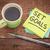 set goals reminder note stock photo © pixelsaway