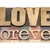 love forever in wood type stock photo © pixelsaway