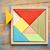 tangram   chinese puzzle game stock photo © pixelsaway