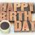 happy birthday greeting card in wood type stock photo © pixelsaway