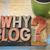 ブログ · 質問 · 文字 · ヴィンテージ · 木材 - ストックフォト © pixelsaway