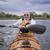 морем · байдарках · озеро · старший · Racing - Сток-фото © pixelsaway