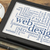 blog · kelime · dijital · tablet · bağbozumu · Metal - stok fotoğraf © pixelsaway