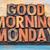 おはようございます · ヴィンテージ · 木材 · タイプ · ブロック - ストックフォト © pixelsaway