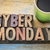cyber monday in wood type stock photo © pixelsaway