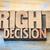 üzlet · választás · készít · döntés · üzletember · néz - stock fotó © pixelsaway