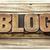 blog · palavra · abstrato · madeira · tipo · impressão - foto stock © pixelsaway