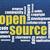 open source word cloud stock photo © pixelsaway