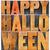happy halloween word abstract stock photo © pixelsaway