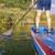 paddling stand up paddleboard stock photo © pixelsaway