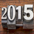 év · 2015 · klasszikus · fém · új · év - stock fotó © pixelsaway