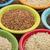 pirinç · çanaklar · soyut · rustik - stok fotoğraf © pixelsaway