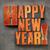 happy · new · year · 2016 · metin · grunge - stok fotoğraf © pixelsaway