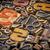 числа · pi · древесины · тип · численный · Vintage - Сток-фото © pixelsaway